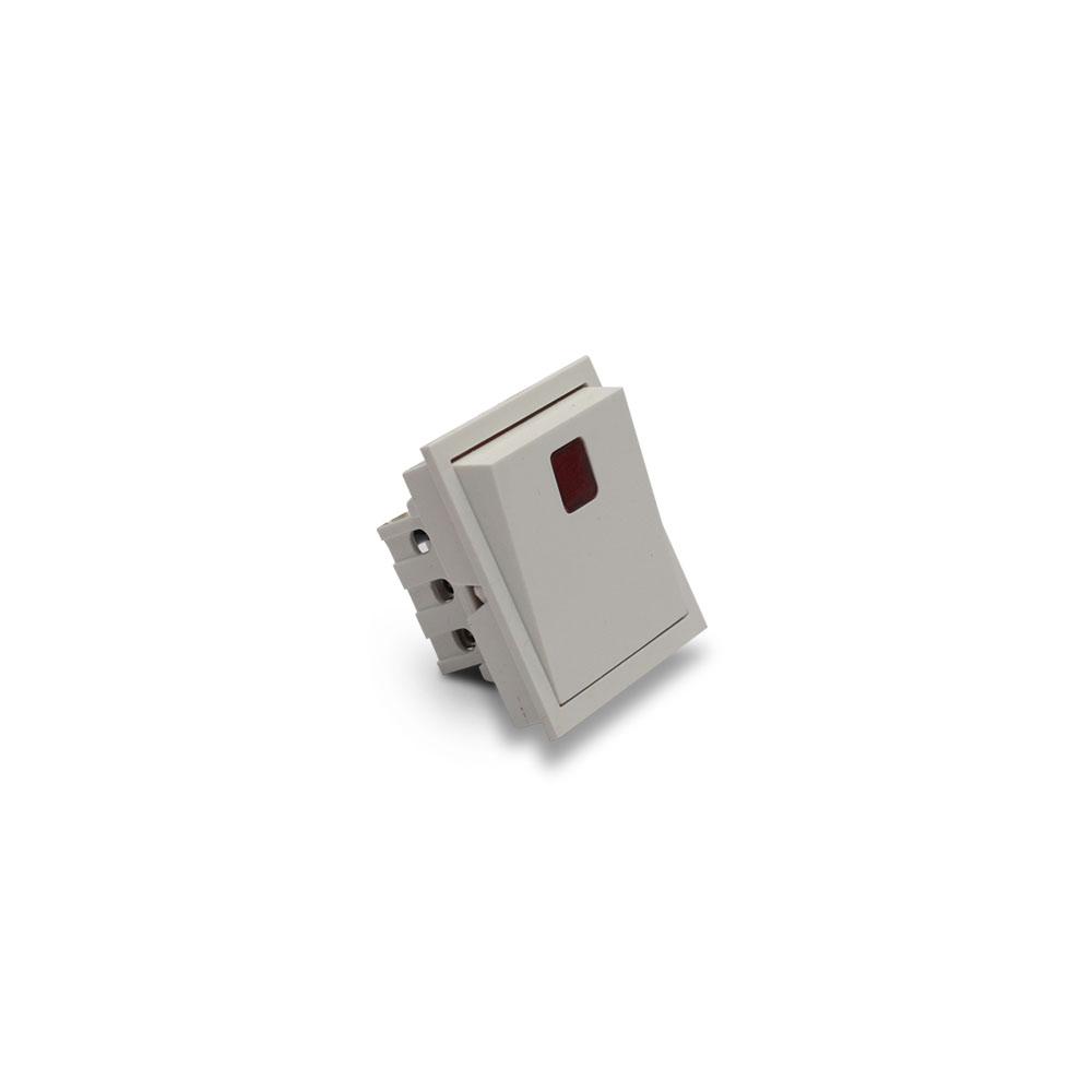 6 Amp One Way Switch With Indicator Golf Mega Module 2